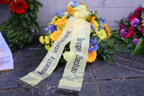 Kranzniederlegung zur KZ-Gedenkfeier 2020